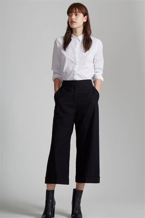 Wide Leg 4 Great Finds For The Look by Ida Flannel Wide Leg Culottes Sale Great Plains
