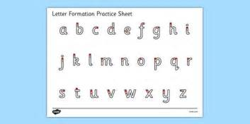 letter formation practice letter formation alphabet handwriting practice sheet