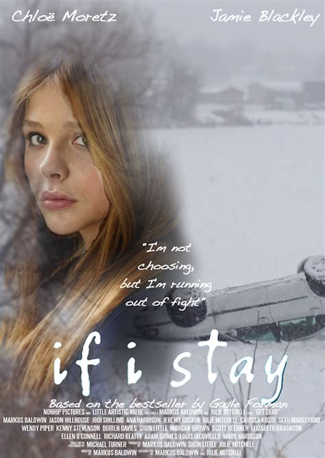 if i stay if i stay fanmade poster if i stay fan 36948082