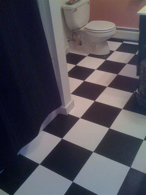 how to paint a bathroom floor top 10 useful diy bathroom tile projects