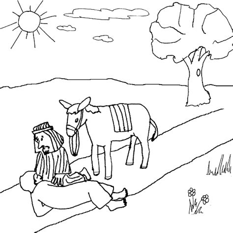 coloring pages for samaritan parable of the samaritan the samaritan