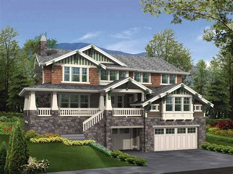 slope house plans hillside home plans at eplans floor plan designs for sloped lots