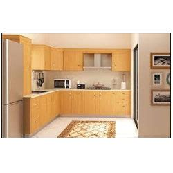 wooden modular kitchen rates   design  rs