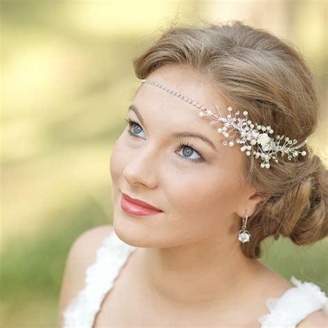 bohemian wedding headpiece bridal fascinator wreath