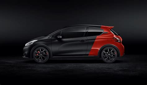 peugeot 208 gti 30th anniversary peugeot releases more photos of the 208 gti 30th carscoops