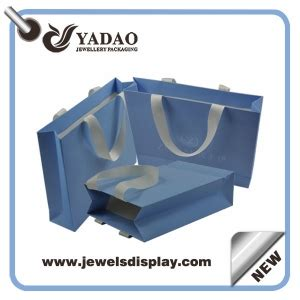 light blue paper gift bags paper jewellery packaging bags jewelry gift bags jewelry