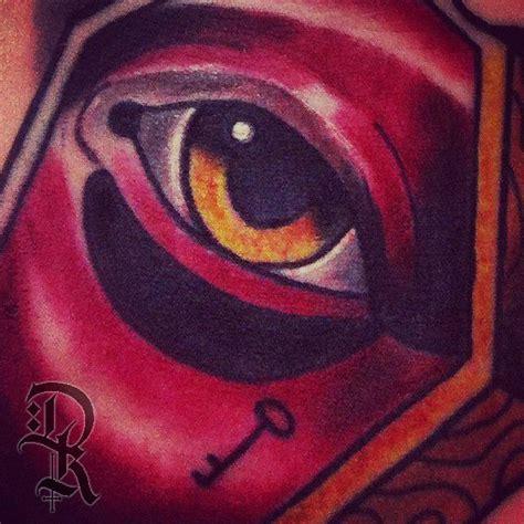 eye keyhole tattoo deekaytattoo eye key tattoo newtraditional