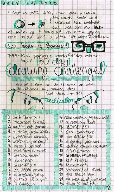 drawing challenge 30 day drawing challenge such a idea papercraft