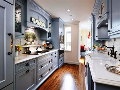 galley kitchen with island layout best galley kitchen layout design ideas kitchen bath ideas