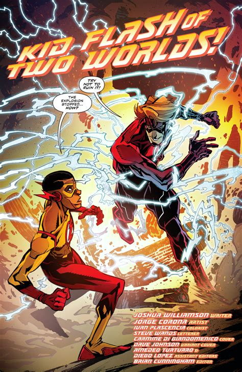gifted and black meet 52 black heroes from past and present books kid flash prime earth meets kid flash new earth
