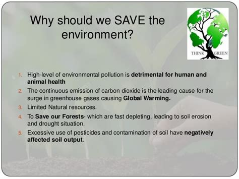 Save The Environment Essay by Environment Essay
