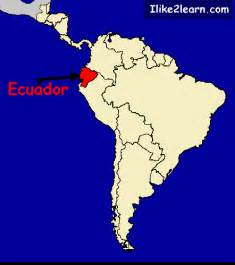 map of ecuador south america ecuador map
