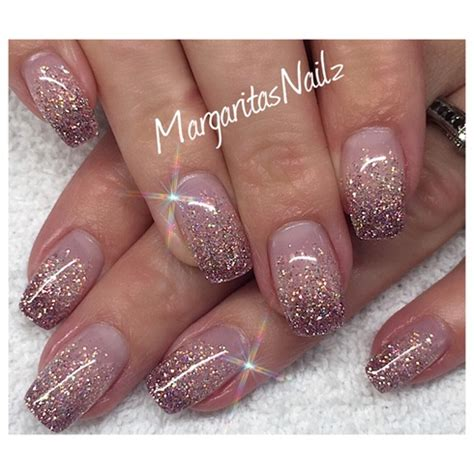 glitter nail 50 most adorable glitter ombre nail design pictures