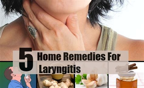 5 home remedies for laryngitis treatments cure
