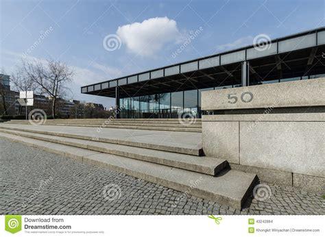 neues möbelhaus berlin the neue nationalgalerie gallery in berlin germany