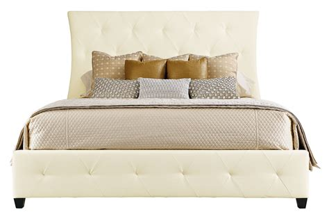 bernhardt salon bed leather upholstered bed bernhardt hospitality