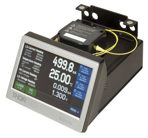 diode laser current controller compact laser diode drivers with tecs and mounts for to can pigtailed lds