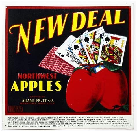 deal northwest apples tin metal sign vintage ad