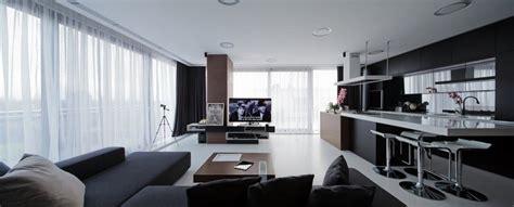 Modern Kitchen And Living Room Colors Dise 241 O Cocinas Abiertas Al Sal 243 N Pr 225 Cticas Y Funcionales