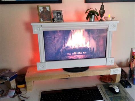 Fireplace For Computer Screen by Desktop Fireplace Craziest Gadgets
