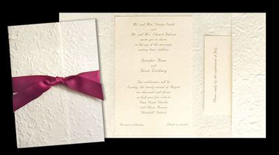 canadian wedding invitations ca diy wedding invitations what s available in canada