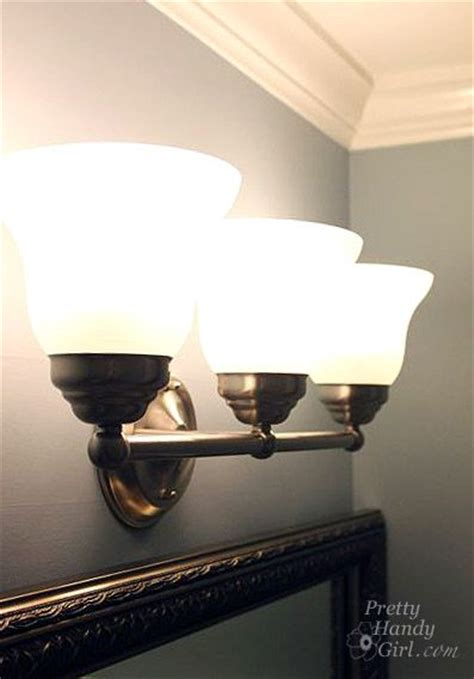 How To Change Light Fixture Remove Bathroom Vanity Woodworking Projects Plans