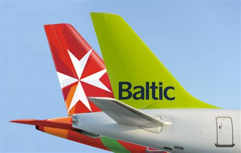 airbaltic signs codeshare deal with air malta news breaking travel news