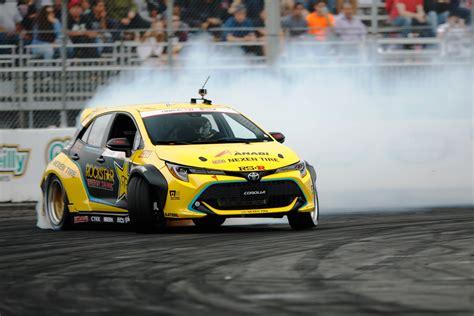 new drift new toyota auris is a smokin drift automotive