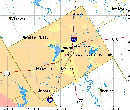 map of mclennan county opinions on mclennan county