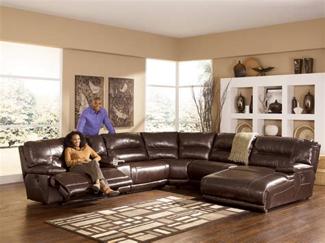 ashley leather sectional reviews ashley furniture sectional leather sofas 2017 2018