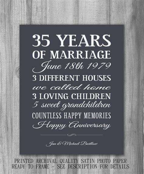 Best 25  35th anniversary ideas on Pinterest   25 year