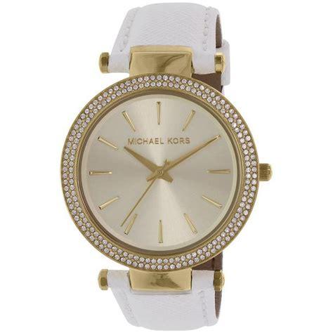 montre michael kors darci mk2391 montre cuir blanche femme sur bijourama n 176 1 de la montre