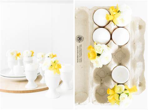 Osterdeko Mit Blumen by Osterdeko Mit Blumen Diy F 252 R Kerzen Und Vasen Aus