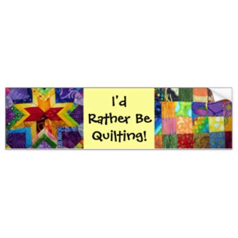 Rather Bee Quilting by Quilt Bumper Stickers Quilt Car Decal Designs