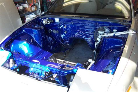 spray painting engine bay what color should i paint my engine bay nissan forum