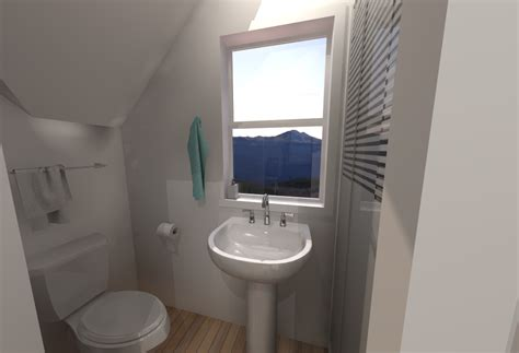 small house bathroom sketchup tiny house design