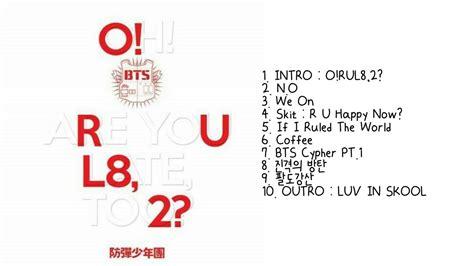download mp3 bts o rul8 2 방탄소년단 bts o rul8 2 full album youtube