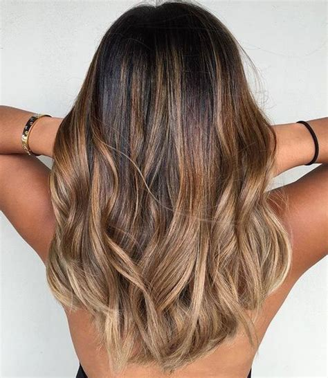 Brown To Light Brown Ombre by Best Ombre Hairstyles Black And Brown Hair