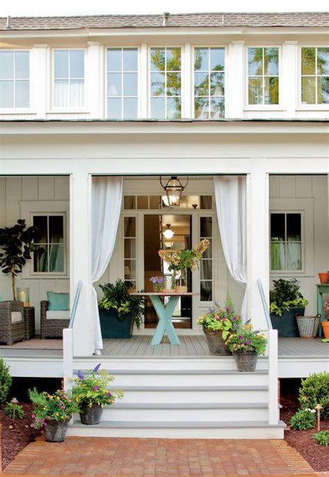 beautiful porches covered back porch a beautiful house pinterest