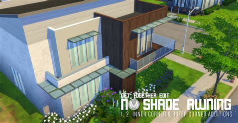 sims 3 awning my sims 4 blog no shade awning addons by peacemaker ic