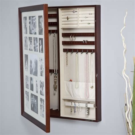 photo frame jewelry armoire 17 best images about picture frame jewelery box on pinterest