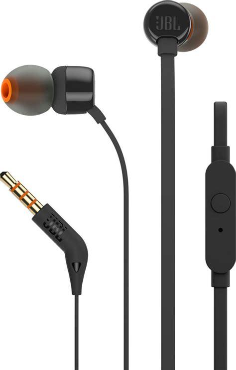 Earphone Jbl jbl t110 black in ear earphones in ear headphones