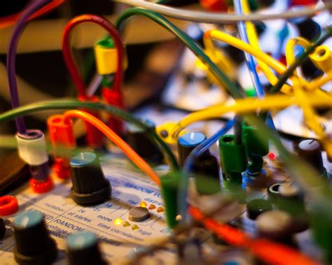 Legendary Synthesist by Create Analog Buchla Visiting The Studio Of A
