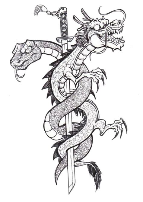 coloring pages for adults tattoo adult coloring page tattoos tattoo dragon 3
