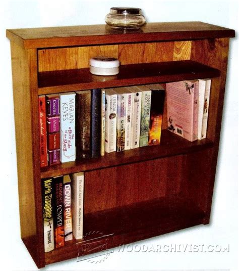 1248 small bookcase plans woodarchivist