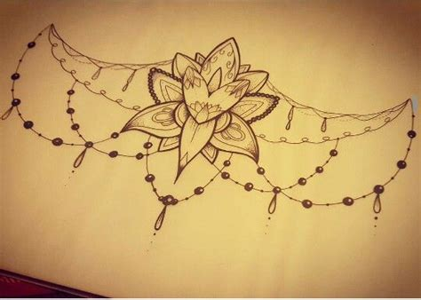 very simple tattoo design very simple but pretty design for under bust tattoo art