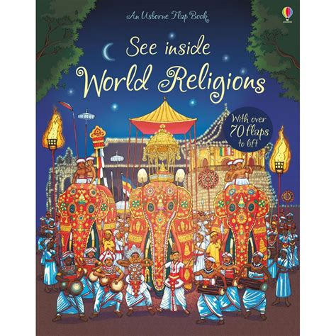 usborne see inside world religion flap book babyonline