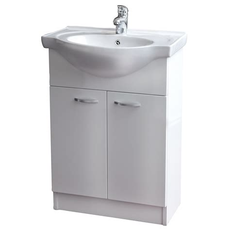 bathroom vanity bunnings conciso naro vanity assembled 600mm white bunnings warehouse