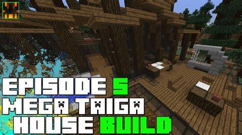 episode 27 ideas for building a house on a budget fine homebuilding minecraft 1 7 mega taiga house build process episode 5