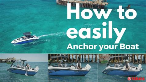 how to make a boat anchor how to set a boat anchor chances are you re doing it